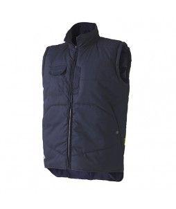 Gilet sans manche anti-froid et couvre reins en P/C