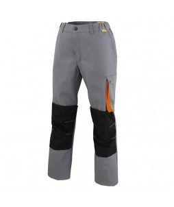 Pantalon travail G-ROK en polycoton avec option genouillère