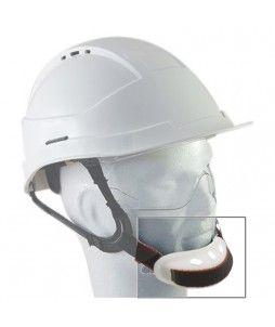 Mentonnière en PVC pour casques AUBOUEIX