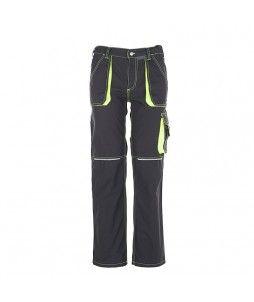 Pantalon BASALT NEON en polyester et coton de chez Planam