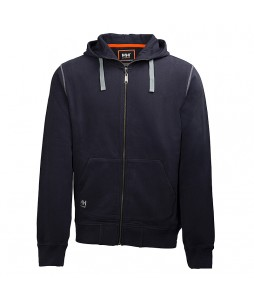 Sweat à capuche Oxford 100% coton par Helly Hansen