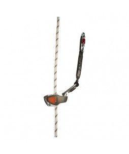 Antichute 3 en 1 : coulissant, bloqueur sur corde et tendeur