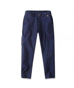 Pantalon de travail largeot, en coton-élasthanne (Parade)