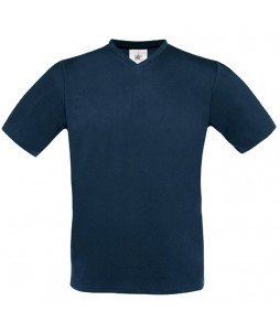 T-shirt EXACT 150 V-NECK, en coton 100% - B&C (145g)