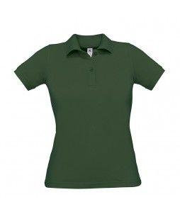 Polo pour femme en coton de chez B&C (modèle SAFRAN 180g)