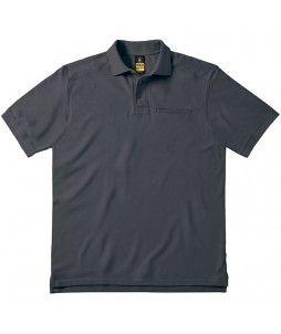 Polo de travail professionnel SKILL PRO B&C - Avec poche