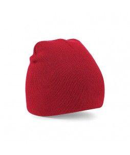Bonnet en acrylique sans rabat Beechfield - Modèle PULL ON
