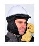 Coiffe avec intérieur polaire pour casque de chantier