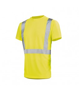 Tee Shirt LIGHT WORK VISION 2 de signalisation - Lafont