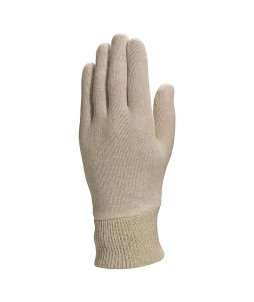 Gants en coton interlock