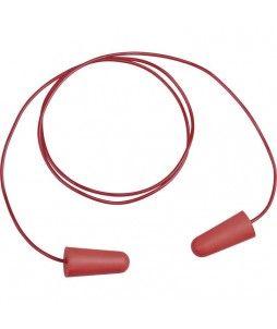 Boite de 200 paires de bouchons d'oreilles avec cordelette