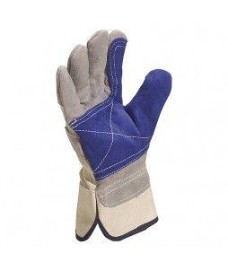 Lot de 12 paires de gants en croûte de bovin supérieure