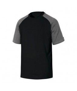 Tee-shirt GENOA bicolore en coton - DELTA PLUS