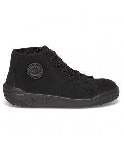 Chaussures hautes JOANA en croûte de cuir velours (S3)