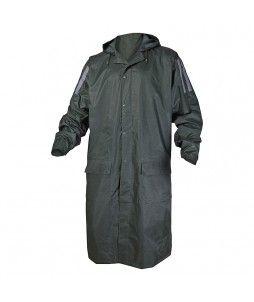 Manteau de pluie MA400 vert avec coutures étanchées