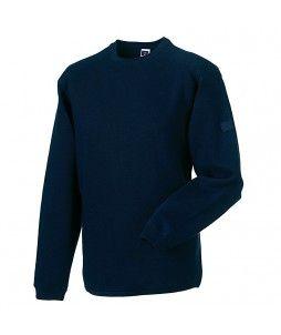 Sweatshirt RUSSEL avec col rond ras de coup (en C/P 300g)