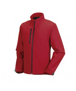 Veste softshell RUSSEL 3 couches pour homme