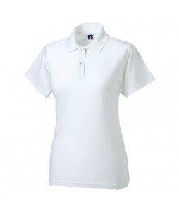 Polo en coton et en maille piquée pour femme (200g/m²)