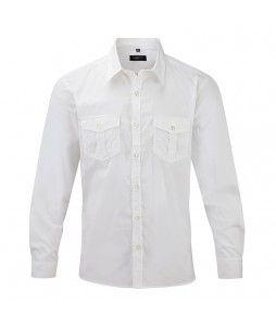 Chemise pour homme à manches retroussables (RUSSEL)