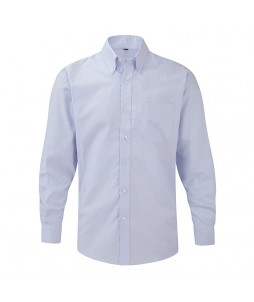 Chemise oxford à manches longues pour homme - RUSSEL