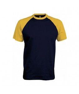 T-shirt base ball Kariban 100% Coton (165g/m²)