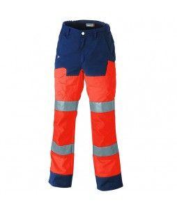 Pantalon LUK LIGHT haute visibilité avec option genouillère