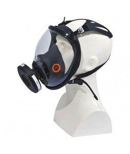 Masque respiratoire complet avec fixation par sangles