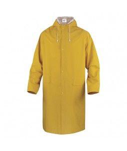 Manteau de pluie avec coutures soudées et capuche fixe
