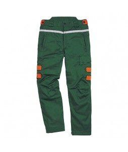 Pantalon anti-coupure pour bucheron (avec taille ajustable)