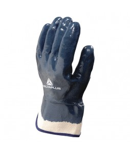 12 paires de gants tout enduit de nitrile avec manchette de 6cm