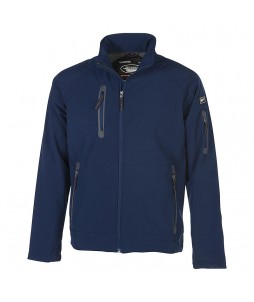 Veste homme PLYMOUTH softshell 3 couches, et micropolaire