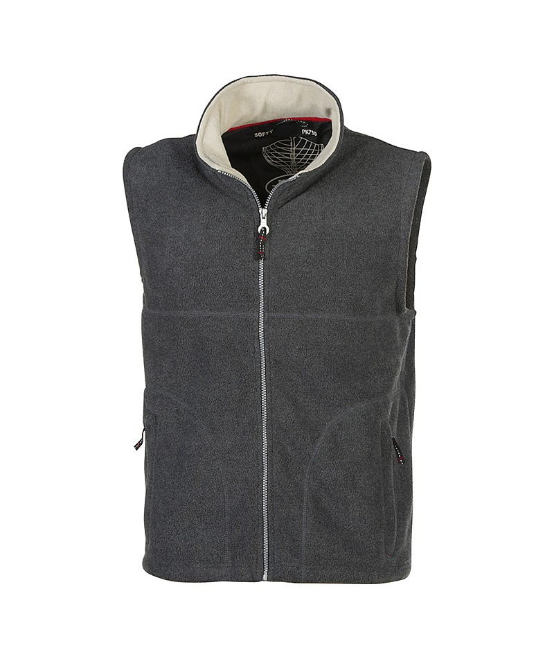 Gilet polaire Pen Duick (SOFTY), 100% polyester anti-pilling