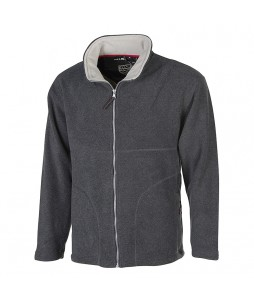 Veste polaire full zip pour homme, en polyester 300grs