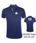 POLO Homme - Le XVCB des supporters - Grand Logo 20x16