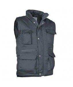 Gilet bodywarmer REPORTER en polyester coton 185grs