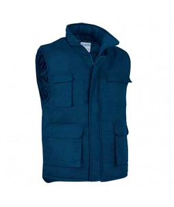Gilet body-warmer PRINTER de 185grs en poly/coton
