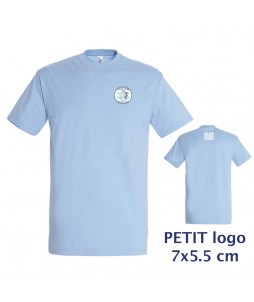 TEE-SHIRT Col rond Homme - Le XVCB des supporters - Petit Logo 7x5,5