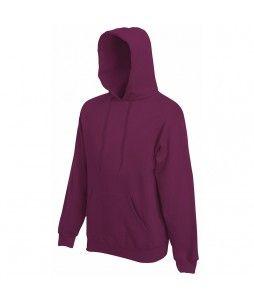 Sweat à capuche pour homme en coton/polyester