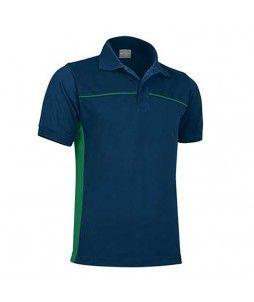 Polo THUNDER de travail, bicolore et mélangé coton/polyester