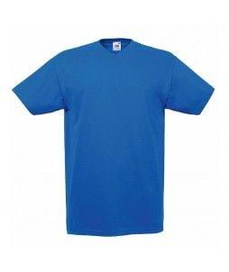 T-shirt avec col V en coton 165g/m² - Modèle VALUEWEIGHT
