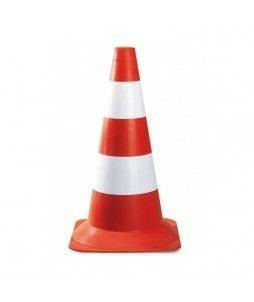 Cone de signalisation empilable, d'une hauteur de 50cm