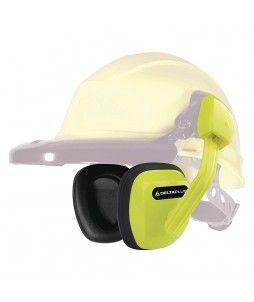 Coquilles antibruit pour casque de chantier - SNR 27 dB
