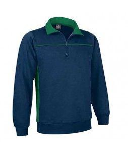 Sweat-shirt THUNDER bicolore en polyester et coton