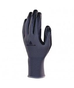 Gants tricot polyester (paume mousse nitrile)