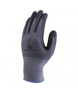 12 paires de gants en polyamide spandex (paume nitrile/PU)
