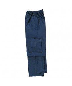Pantalon de pluie TYPHOON en polyester enduit PVC