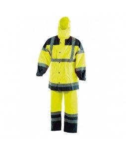 Ensemble pantalon et veste haute visibilité, en Oxford 300D