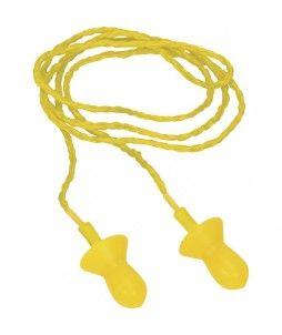 Bouchons d'oreilles réutilisables en silicone (10 paires)