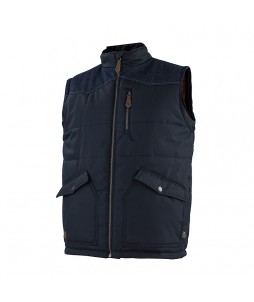 Body Warmer DENIM avec doublure polaire - Molinel
