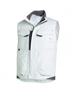 Gilet matelassé WHITE & PRO Molinel en coton/polyester